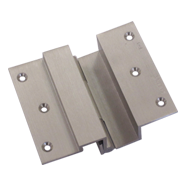 Brass Door Hinge - Full - Stainless Steel Finish