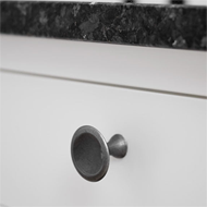 BELL Cabinet Knob - 42mm - Antique Grey