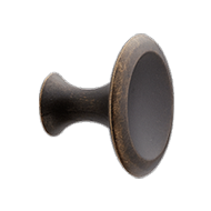 BELL Cabinet Knob - 42mm - Antique Brow