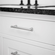 THOR Cabinet Handle - 128mm - Inox Look Finish