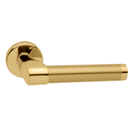 TUC Lever Handle on Rose - Po