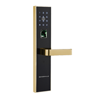 Fingerprint Door Lock - Black