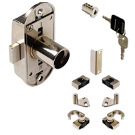 Wardrobe bar lock - 3 point lock
