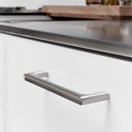 Creek Cabinet Handle - 160mm - Stainless Steel Finish