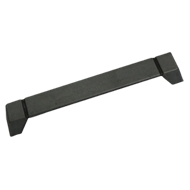 Cabinet Handle - Matt Old Iron Finish - 160mm - Handle Strip DS