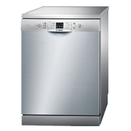 Bosch Freestanding Pre-Activated Vario Speed Dishwasher - 60 cm - Silver Inox Colour