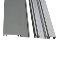 Sliding Aluminium Channel - 2.43 Mtr. - Anodized Finish
