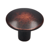 Cabinet Knob - 30mm - Copper black tumb