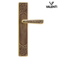 PHERKAD Door Lever Handle on Plate - Br