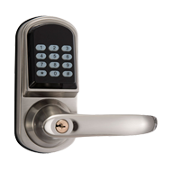 Digital Code Door Lock - Satin Nickel Finish