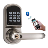 Bluetooth Door Lock - Satin Nickel