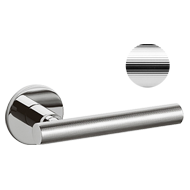 ATENA LIGNE Door Handle - Brass - Chrom