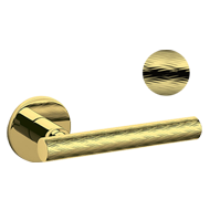 ATENA PANIER Door Handle - Brass - Brig