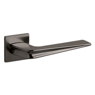 CHEVRON Door Handle - Brass - Super Ant