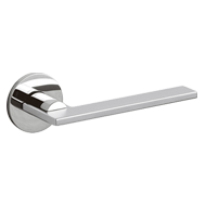 OPEN Door Handle  - Brass - Matt Chrome