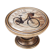 Bicycle Design Cabinet Knob