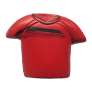 Red Colour T-Shirt Cabinet Knob