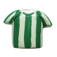 Buy Kids room green footballer T-Shirt