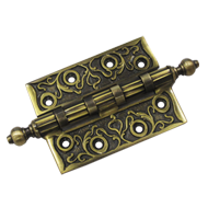 Brass Door Hinge - Antique Finish