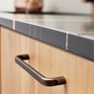BASE Cabinet Handle - CC 320mm - Antiqu