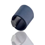 DRUM Leather Cabinet Knob - Navy Blue Colour - 32mm