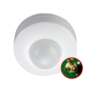 360° Ceiling Mount Stand Alone Light Control PIR Sensor