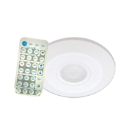 360° Ceiling Mount Stand Alone Light Control PIR Sensor - Remote with dimming
