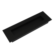Flush Sliding Handle - 6 Inch - Black C