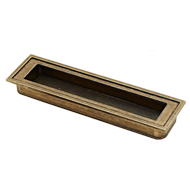 Flush Handle - 128mm - BAB Finish
