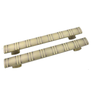 Door Pull Handle - Matt Satin Nickel Finish - 320mm