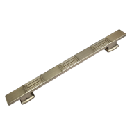 Door Pull Handle - Matt Satin Nickel Fi