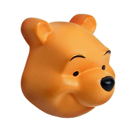 Emotions Disney Winnie Cabinet Knob - 3