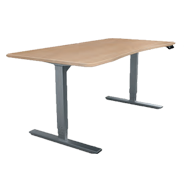 Height adjustable tables Frames - Stroke - 700-1200mm - Black Colour