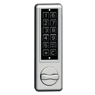 Electronic Locking Device - Silver - RH