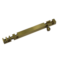 Square Tower Bolt - 6 Inch - Gold Finish