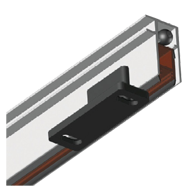 TOP SLIDE Automatic Drop Down Door Seal