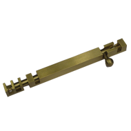 Square Tower Bolt - 18 Inch - Gold Fini