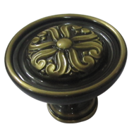 Door Knob - 75mm - Old Gold PVD Finish