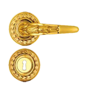 Lever Door Handle - Old Gold PVD Finish
