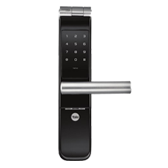 Biometric Mortise Lock - Black Colour