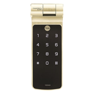 Biometric Digital Rim Lock With Key Override