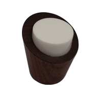 Cabinet knob - Brown and White Colour