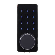 Touch screen smart password door lock - Black Colour