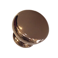 Cabinet Knob - Rose Gold Finish - 30mm