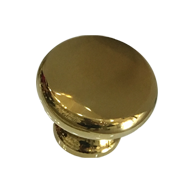 Cabinet Knob - Gold Pvd Finish - 30mm