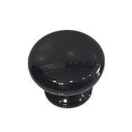 Cabinet Knob - Black Pvd Finish - 38mm
