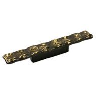 Cabinet Handle - 165mm - Antique Brass