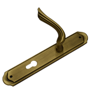 Door Mortise handle on Plate Sofia - Pa