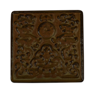 Ceramic Cabinet Knob - Brown Colour