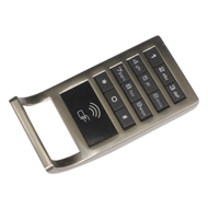 Cabinet Lock - Silver Finish